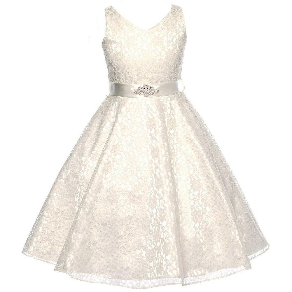 9f62976e7e30 Buy Your Lace Flower Girl Dresses (Champagne