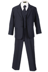 Boys Formal Classic Navy Suit - Malcolm Royce