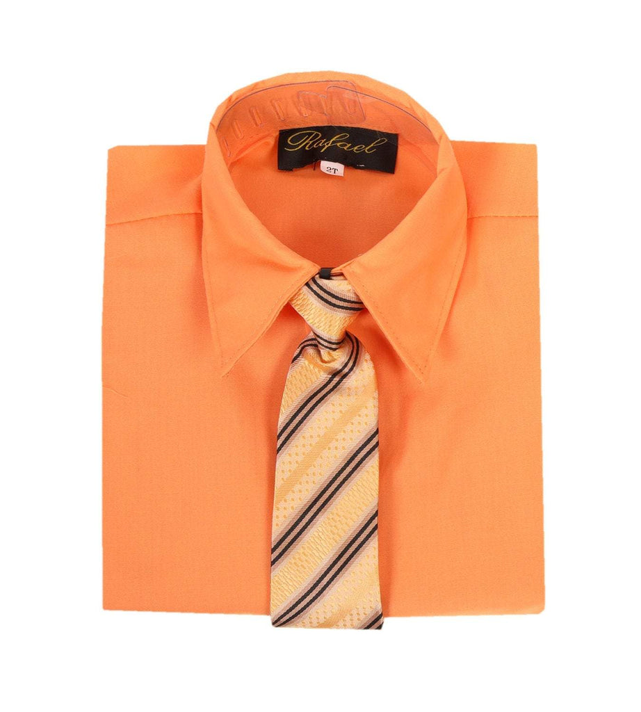 Dress Shirt, Orange