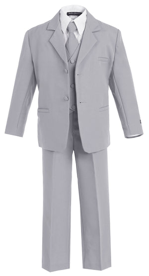 Classic Formal Boys Light Grey Suit