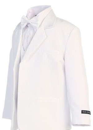 white tux for boys