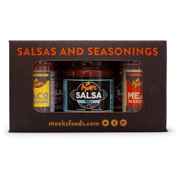 Salsa & Seasoning Gift Box