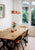 Upcycle eettafel wagonhout - sustainable interior design