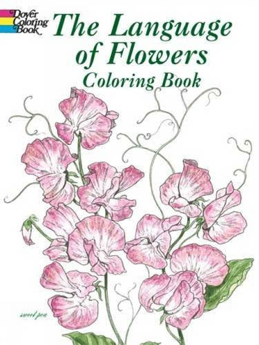 """The Language of Flowers"" - Coloring Book"