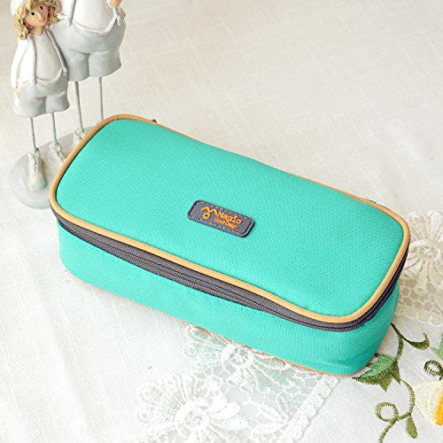Ehdching Multifunction Lovely Pencil Case - Green