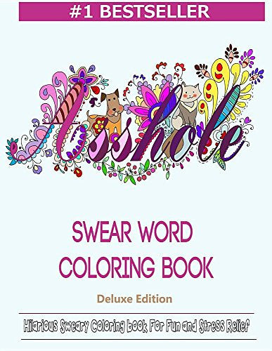 """Asshole - Swear Word"" -Coloring Book"
