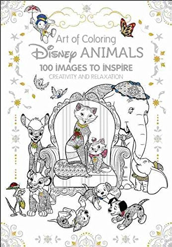 """Disney Animals"" - Coloring Book 100 Images"