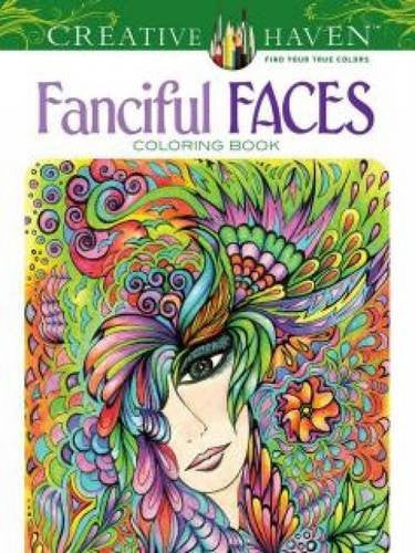 """Fanciful Faces"" - Coloring Book"
