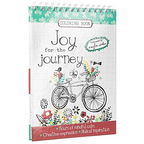 """Joy for the Journey""-Adult Coloring Book"