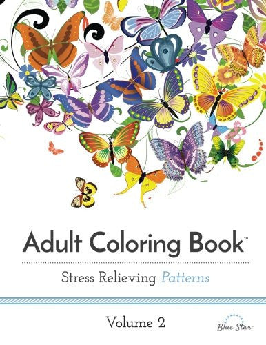 """Stress Relieving Patterns"" - Adult Coloring Book Volume 2"