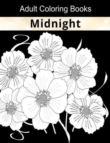"""Midnight"" - Adult Coloring Books"