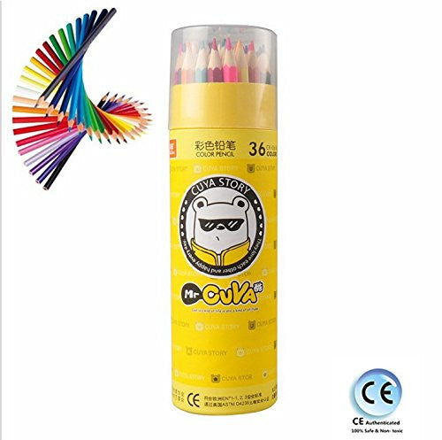 Top JM Art Colored Pencils - 36 Colors