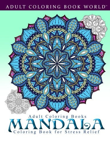 """Mandala"" - Adult Coloring Books"
