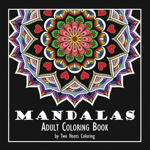 """ Mandalas"" - Adult Coloring Book"