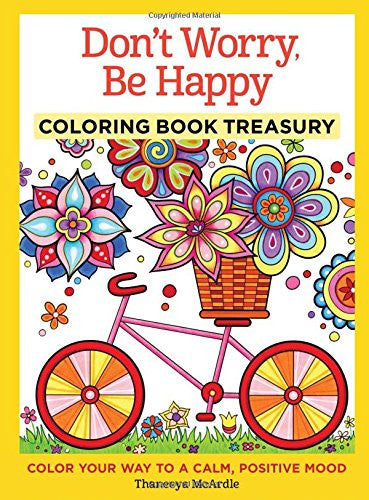 """Don't Worry Be Happy"" - Coloring Book"