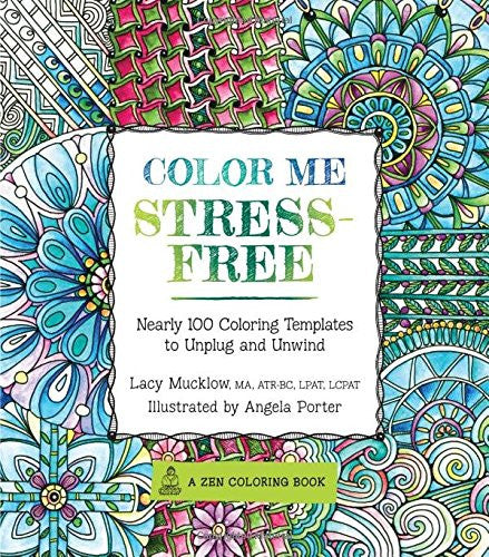 """Color Me Stress"" - Coloring Book"