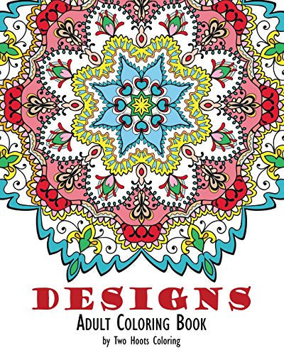 """Designs"" - Adult Coloring Book"