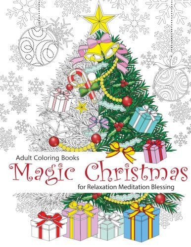 """Magic Christmas"" - Adult Coloring Book Volume 8"