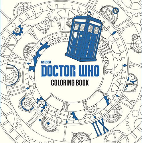 """Doctor Who"" - Coloring Book"