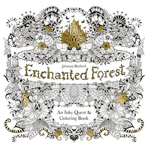 """Enchanted Forest"" - Coloring Book"