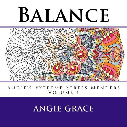 """Balance"" - Adult Coloring Book Volume 1"