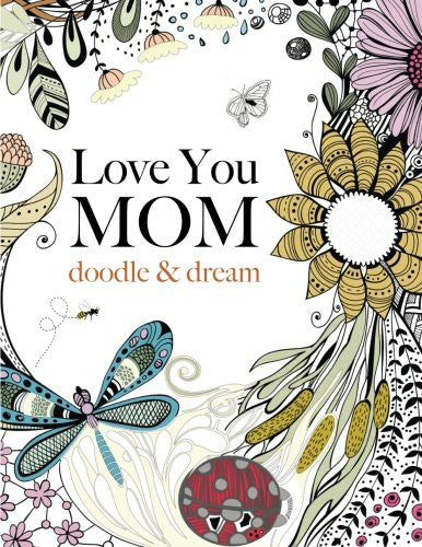 """Love You MOM"" - Coloring Book"