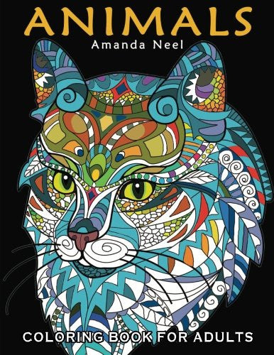 """Animals"" - Coloring Book for Adults"