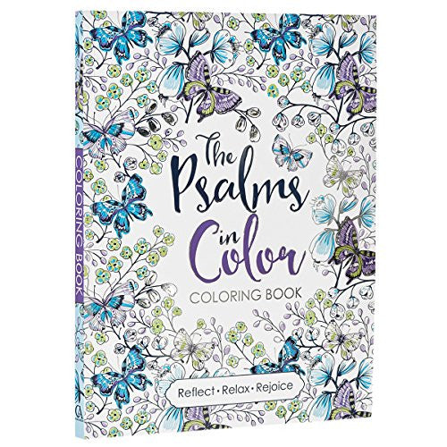 """The Psalms in Color""- Adult Coloring Book"