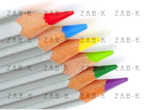 ZAB-K Art Colored Pencils Premium - 48 Pieces