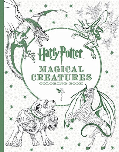 """Harry Potter Magical Creature"" - Coloring Book"