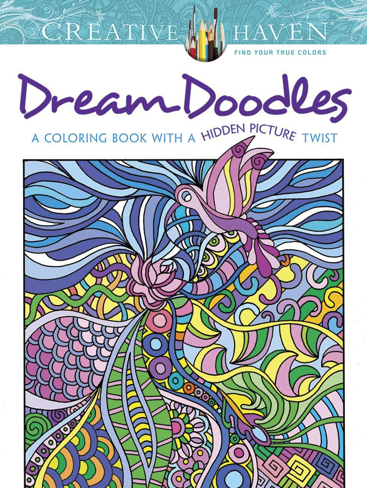 "Creative Haven ""Dream Doodles"" - Coloring Book"
