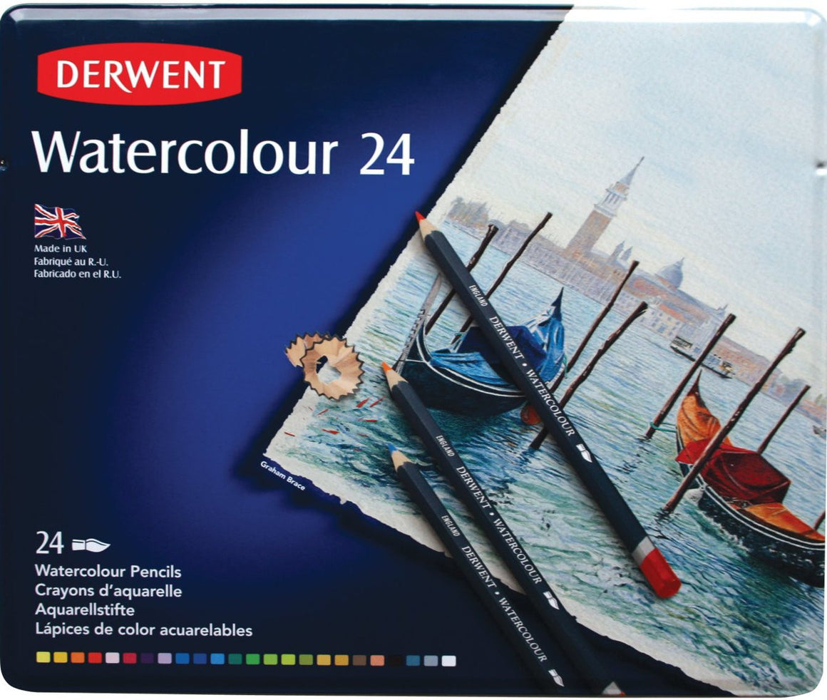 Derwent Watercolor Colored Pencils 24 Count