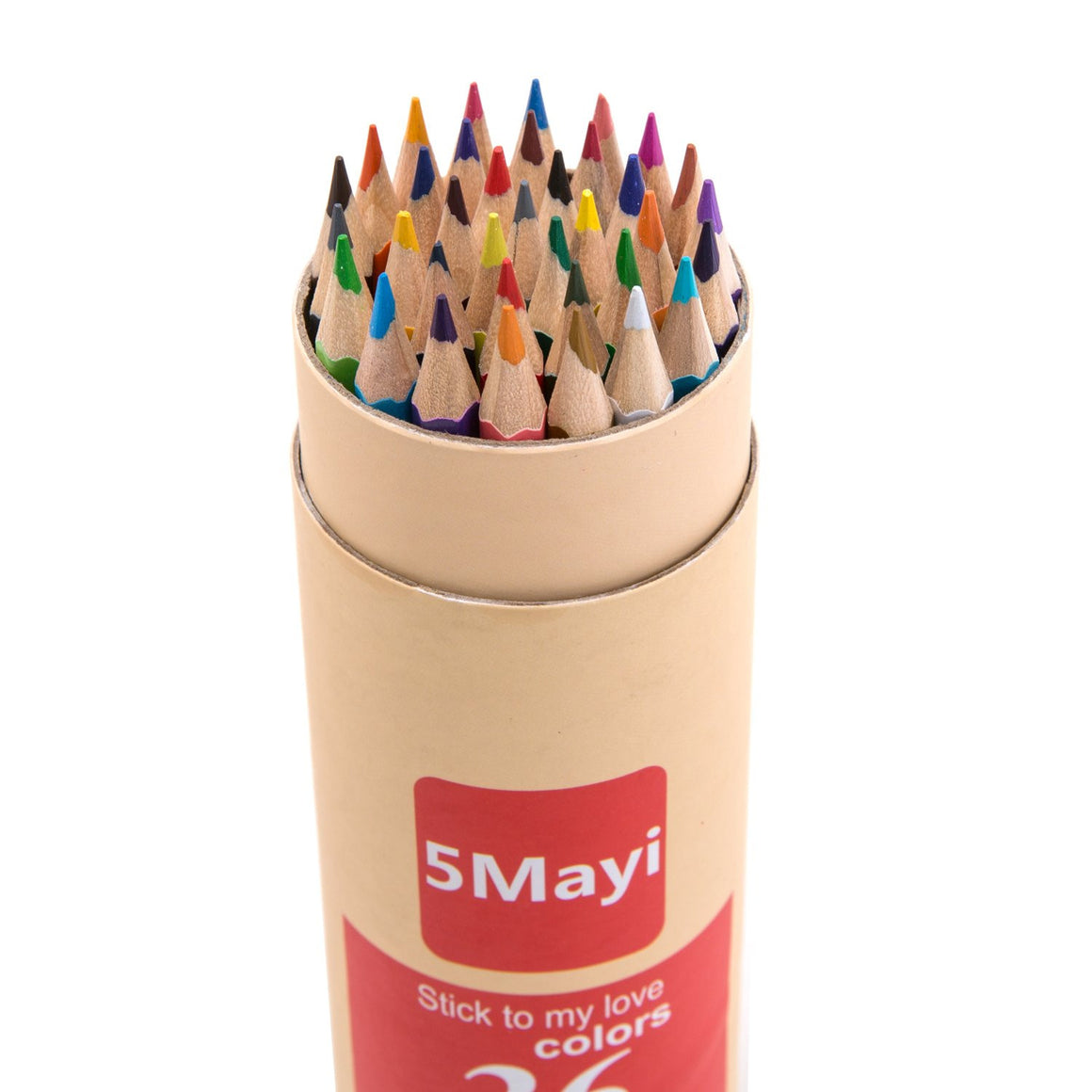 5Mayi Colored Pencils with Sharpener - Set of 24