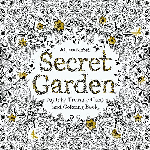 """Secret Garden"" - Coloring Book"