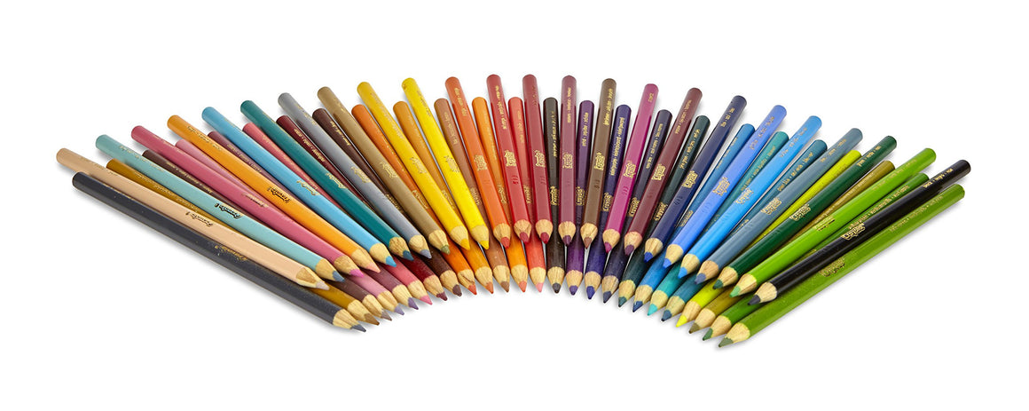 Crayola Colored Pencils 50 Count Vibrant Colors