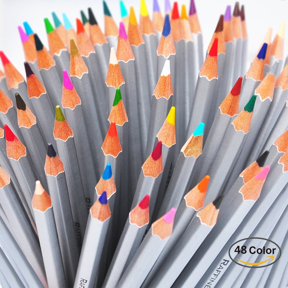 Abdtech 48 Assorted Color Art Colored Pencils