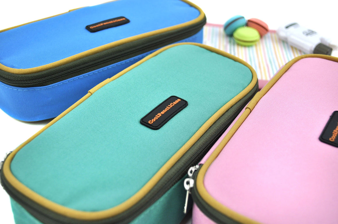 Color Love Pencil Case- Bright Sky Blue