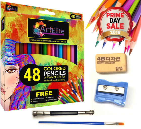 Art Elite Colored Pencils 48 Pieces