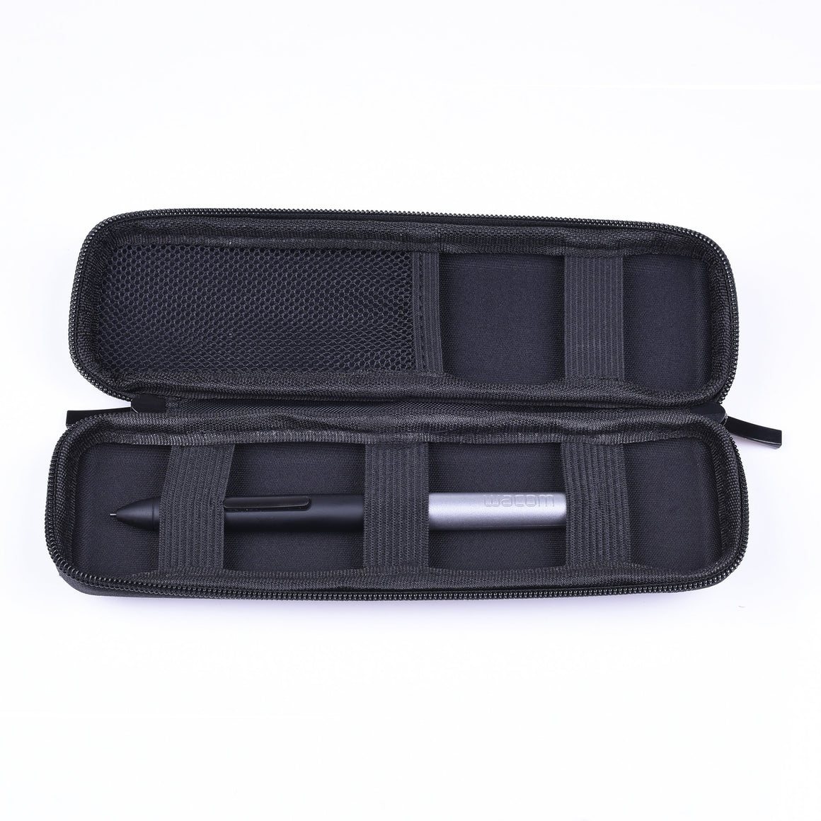 Cosmos Eva Hard Shell Pencil Case - Black