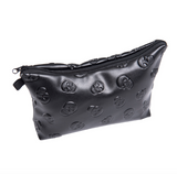 Skull Makeup Bag Flash Fake Eyelashes - Wink My Way