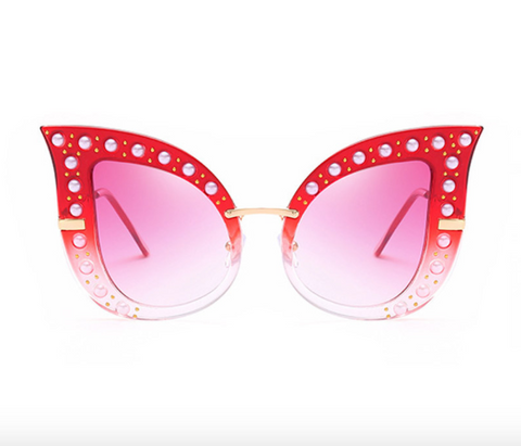 Wink My Way Vixen Sunnies Flash Fake Eyelashes - Wink My Way