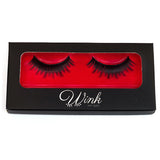 Feline Flash Fake Eyelashes - Wink My Way