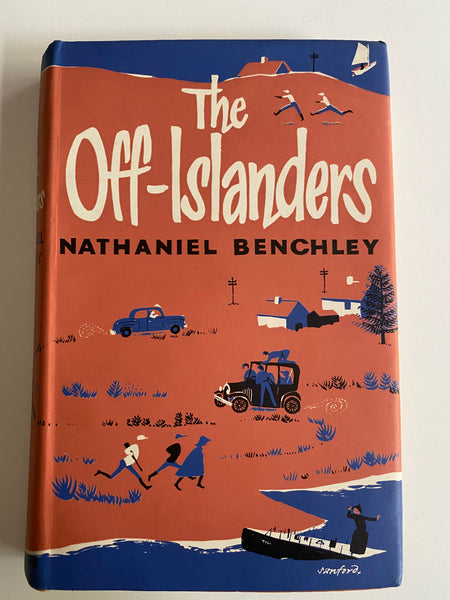 The Off-Islanders by Nathaniel Benchley, 1962,ED1