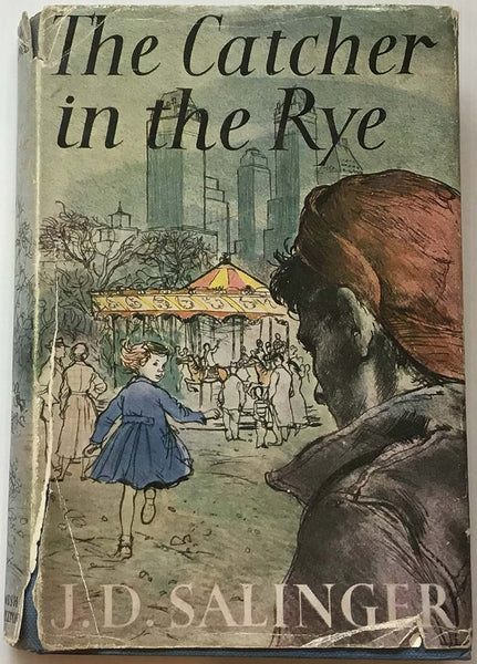 J D Salinger, The Catcher in the Rye, Hamish Hamilton, 1957, Fritz Wegner dust jacket