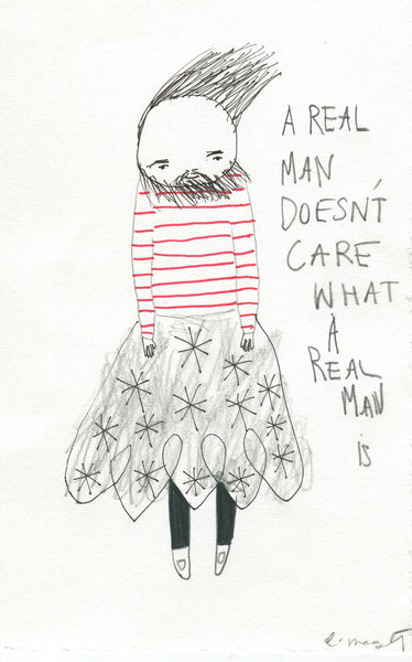 """A Real Man"" by Emma Magenta"