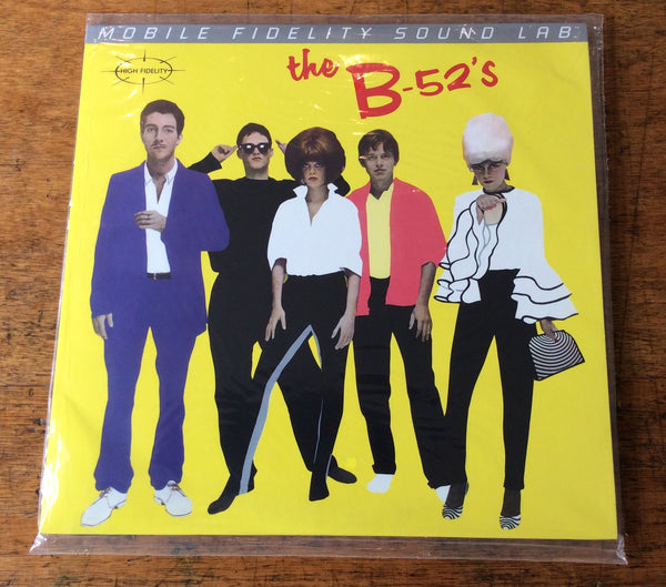 The B-52's / Self Titeld, MFSL MoFi Audiophile Vinyl LP (MOFI 1-004)