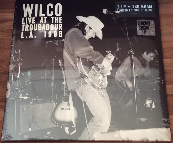 "Wilco ""Live At The Troubadour L.A. 1996"". Sealed 2018 RSD 180g Double LP"