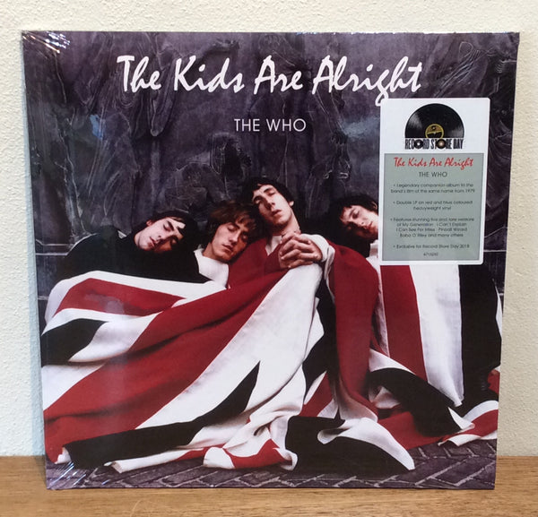 "The Who ""The Kids Are Alright"" Sealed RSD 180g Coloured Double LP"