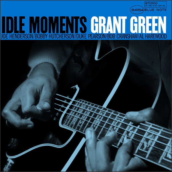 "Grant Green  ‎– ""Idle Moments"", New Factory Sealed US 2014 Blue Note Vinyl LP ST-84154"