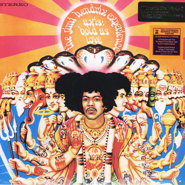 The Jimi Hendrix Experience ‎– Axis Bold As Love (stereo)
